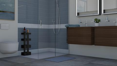 mid century modern bath - by Joanne Galle_680