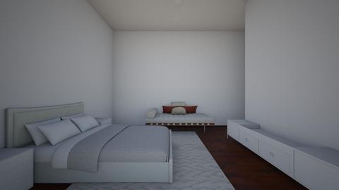 Recamara - Minimal - Bedroom - by eugeniavargas