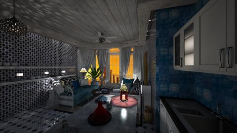 Cuisine Legzira - Dining room - by Hanane Haidoune