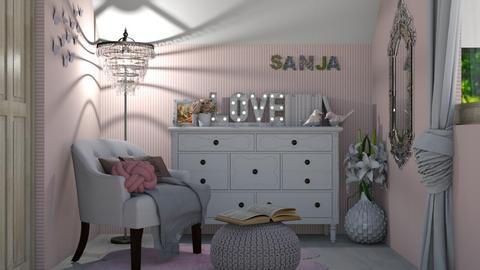 Minja angle - Bedroom - by snjeskasmjeska