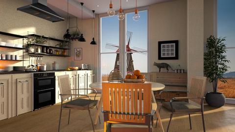 Netherland - Kitchen - by ZuzanaDesign