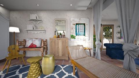 bohemian2 - Living room - by ana111