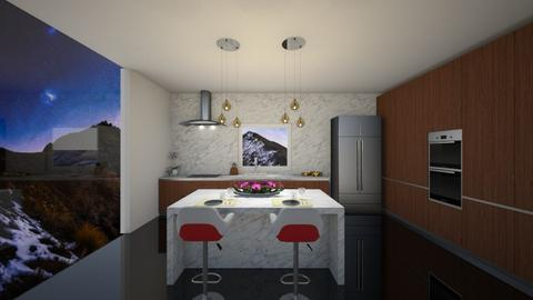 Small Modern Kitchen - Modern - Kitchen - by FabulousGirl35