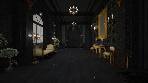Dark Hallway - Classic - by Pirschjaeger