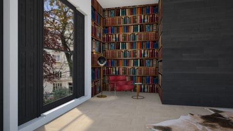 a place to read - Modern - by kitty