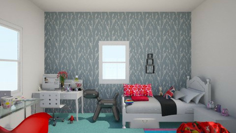 My ideal room  - Modern - Kids room - by magicstar_light