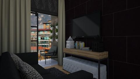 black lil spot - Living room - by nonanymous_