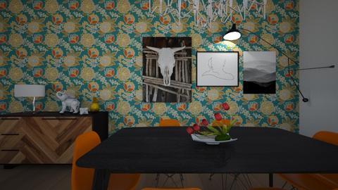 Tulipa Spring - Dining room - by raphaelfernandesdesign