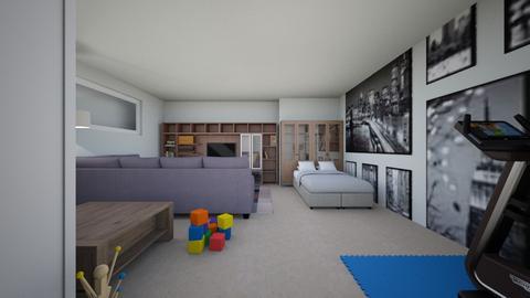 Mahoney - Living room - by louisdhe