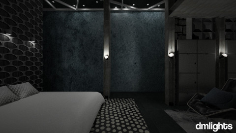 Slipping In The Future - Bedroom - by DMLights-user-1042262