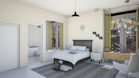 Seo joon room - Minimal - Bedroom - by fifi sefriyani