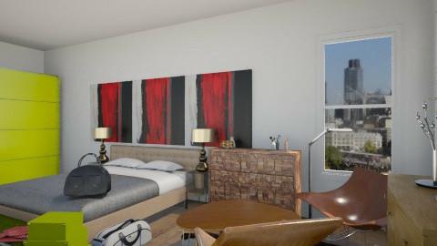high bedroom - Bedroom - by CASEBOOK DESIGN