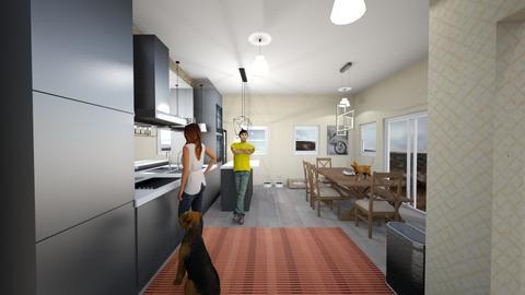 Modern Kitchen - Modern - Kitchen - by Maxwel M