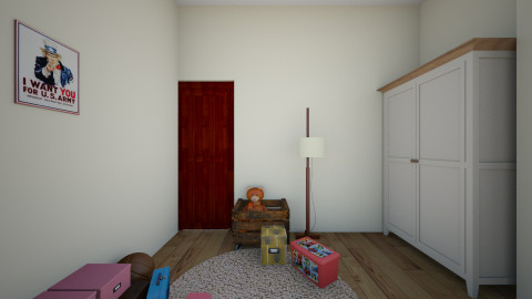 Tamir room - Eclectic - Kids room - by Sapir Halevi