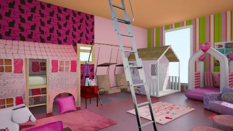Princess Heaven - Feminine - Kids room - by Mohammad_ Saleem
