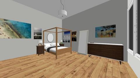 beachy bedroom - Bedroom - by lutzemi000