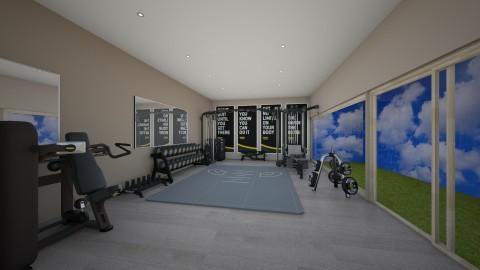Gym  - by Henning2002