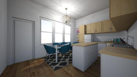 Townhouse Kitchen corner1 - Kitchen - by Kmstyles84