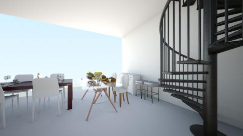 123 - Dining room - by Sandy cristina lohn