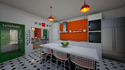 Mid Century Modern - Kitchen - by ElleP