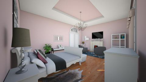 Pink Sunrise - Glamour - Bedroom - by megalia42