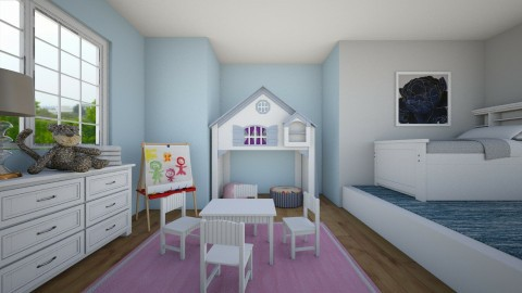 Shared Kids Bedroom - by jaymegrey