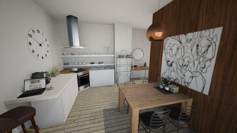 5432867 - Kitchen - by celavia