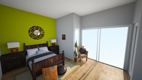 Summer Bedroom - Bedroom - by decora88