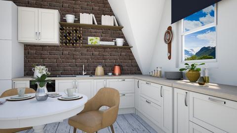 Scandi Kitchen - Minimal - Kitchen - by fashionistafalida