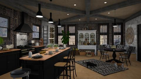 kitchen bar - by lydiaenderlebell