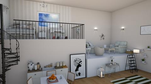 mezzanine apartment - Modern - by darcyclayton