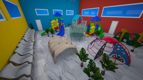 Public Kids Playroom - Classic - Kids room - by millerfam