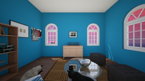 Welcoming Home Dad - Modern - Living room - by hdricci01123890