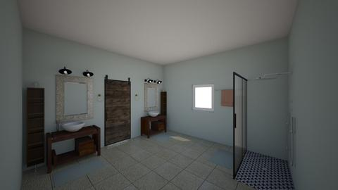 Master Bath - Bathroom - by wanderanne