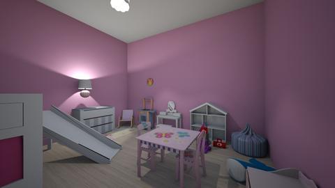 Layla  - Kids room - by paiz2000