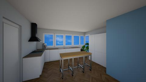 kook eiland open - Living room - by Mthe