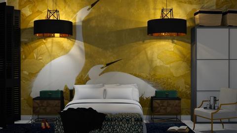 orient - Bedroom - by Ripley86