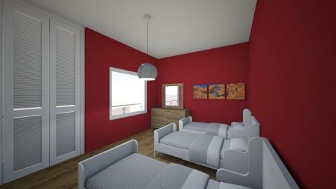 Hotel  Rooms  - Country - Bedroom - by Klindi Klind