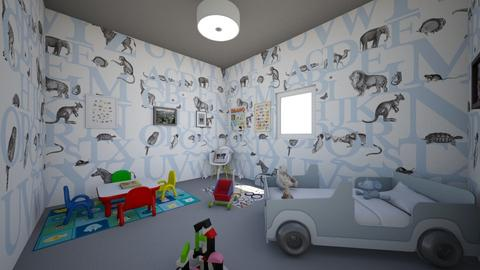 Maron - Kids room - by Laura Drouhard