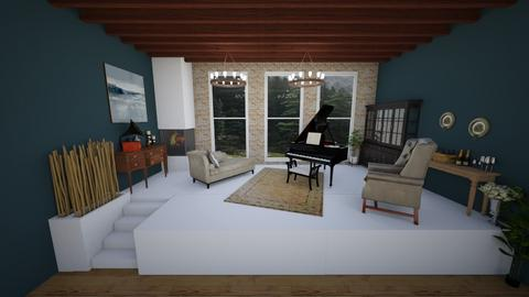 piano - Modern - Living room - by amilya