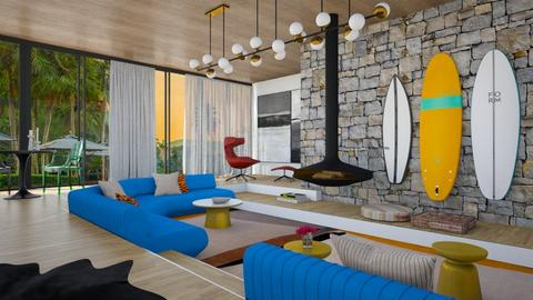 The Surf Lounge - Modern - Living room - by 3rdfloor