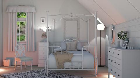 shabby chic bedroom - by Joanne Galle_680