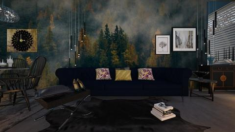 M_ Supergrand - Eclectic - Living room - by milyca8