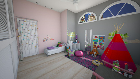 House1 Montessori Nursery - Modern - Kids room - by Leticia Camargo_175