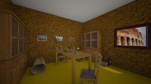 Modern Triclinium - Dining room - by lalalalisa_m__