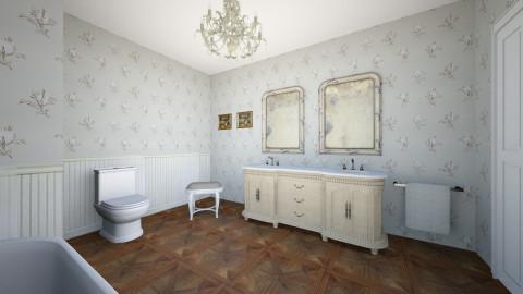 Country Bathroom - Country - Bathroom - by Nilgun Batukan