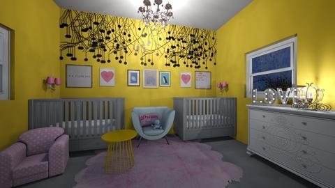 Cute Nursery - Kids room - by briellej81