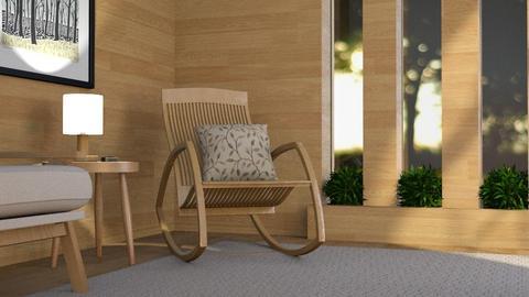 Wood Obsessed - Living room - by GraceKathryn