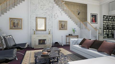Salotto - Glamour - Living room - by giulygi
