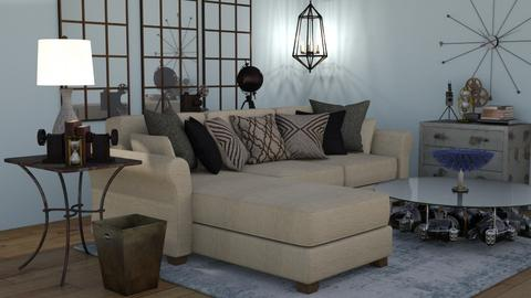 Industrial Classic Lvgrm - Eclectic - Living room - by jjp513